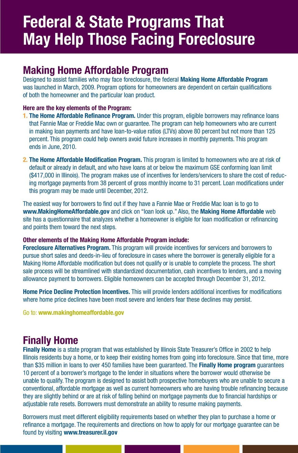Obama Housing Plan Qualifications Beautiful Realtors Guide to foreclosure Resources Pdf Free Download