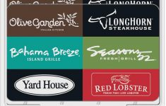 Olive Garden Gift Card Check Best Of Darden $60 Gift Card