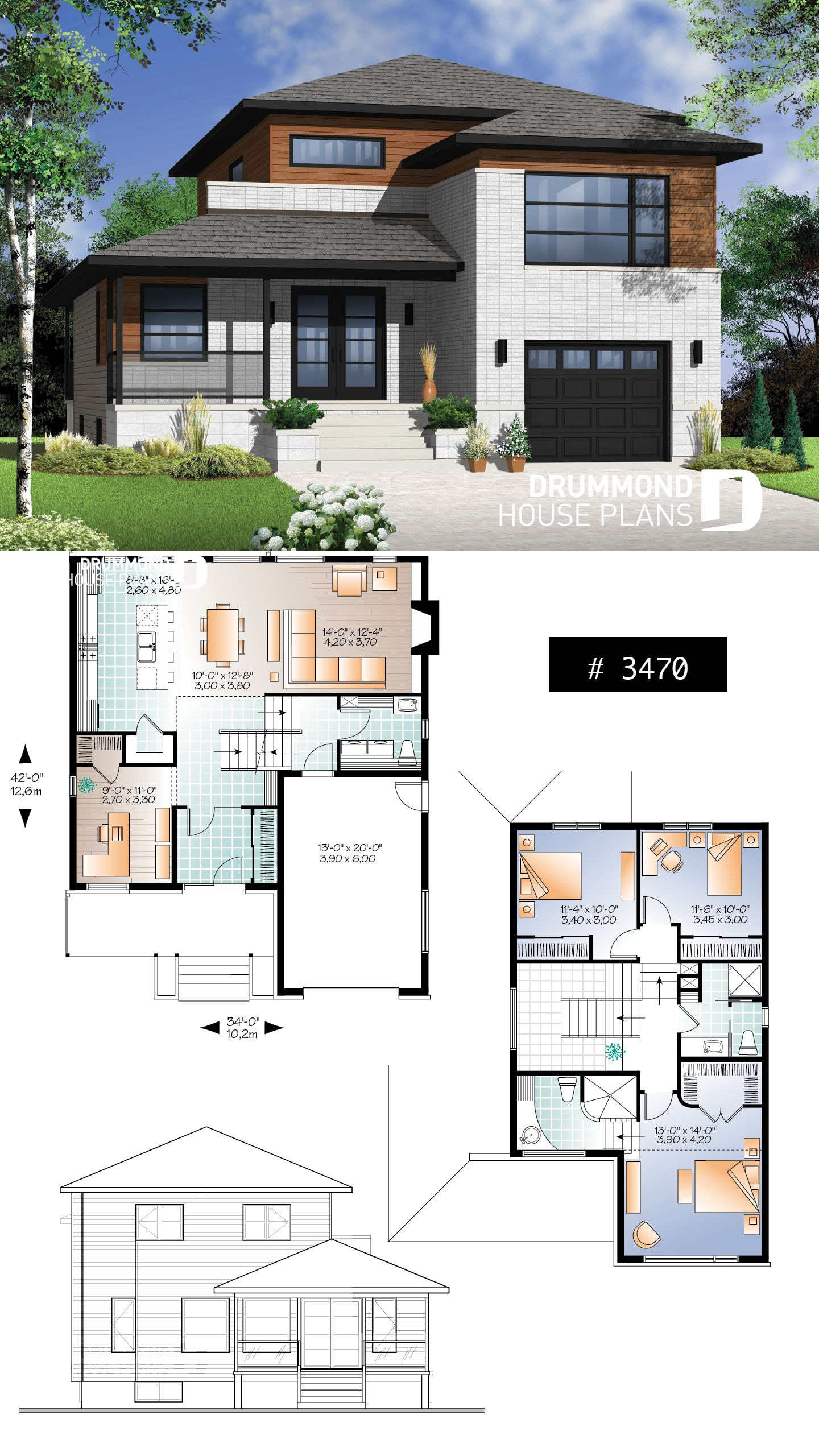 Open Floor Plans for Houses with Pictures Lovely House Plan Aldana No 3470