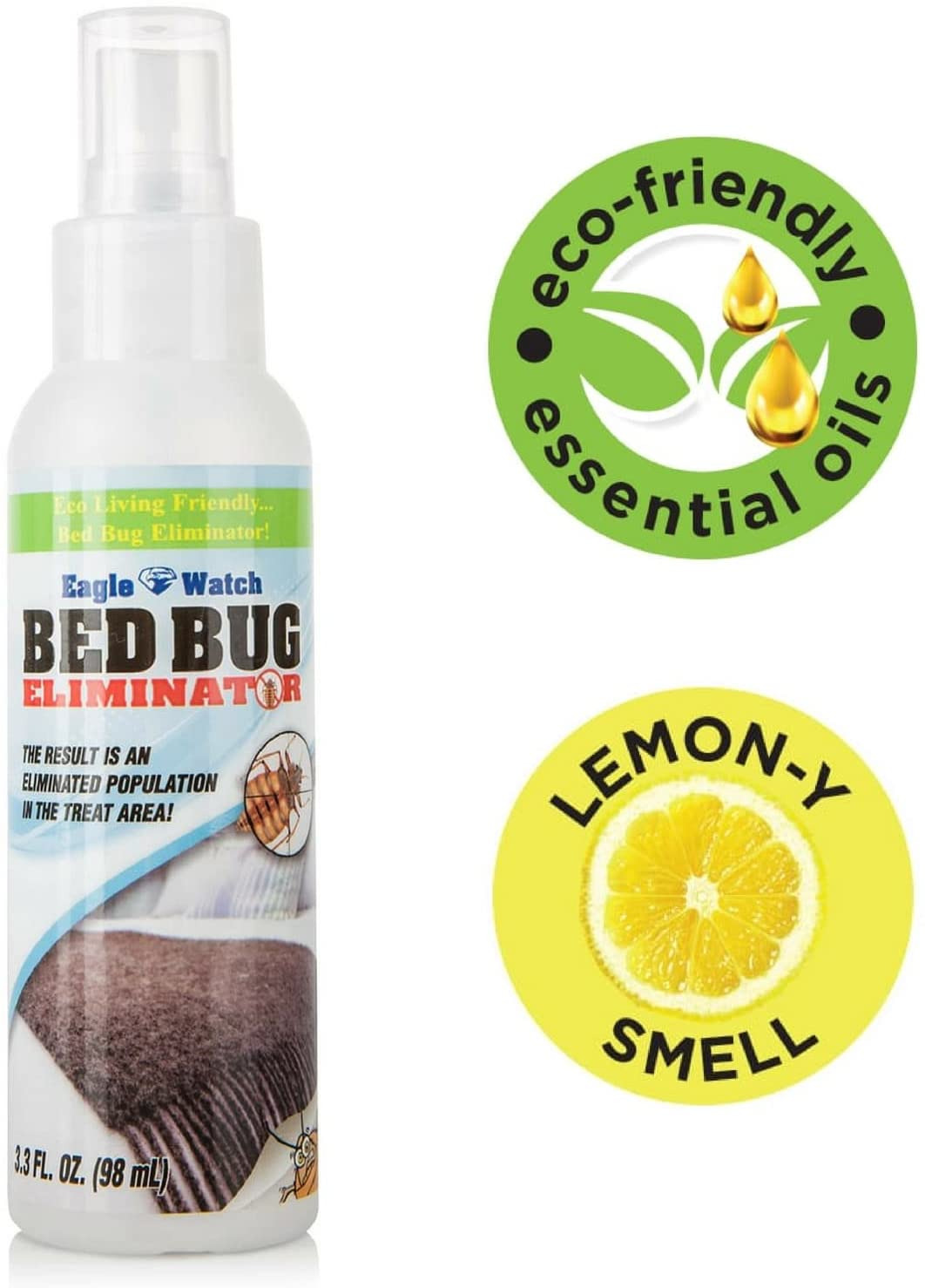 Ortho Bed Bug Spray Review Elegant Eco Friendly Bed Bug Spray Non toxic Bed Bug Killer & Barrier Essential Oil formula Great Bedbugs Spray for Home Mattress Clothes Travel Skin