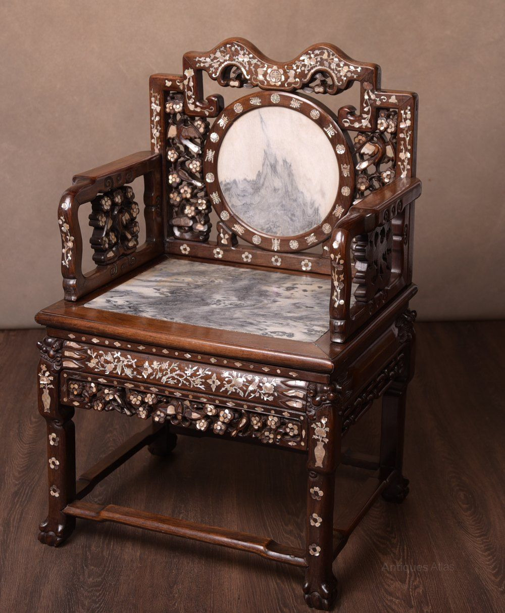 Pictures Of Antique Furniture Beautiful Stunning 19th Century Chinese Rosewood Hall Chair Antiques
