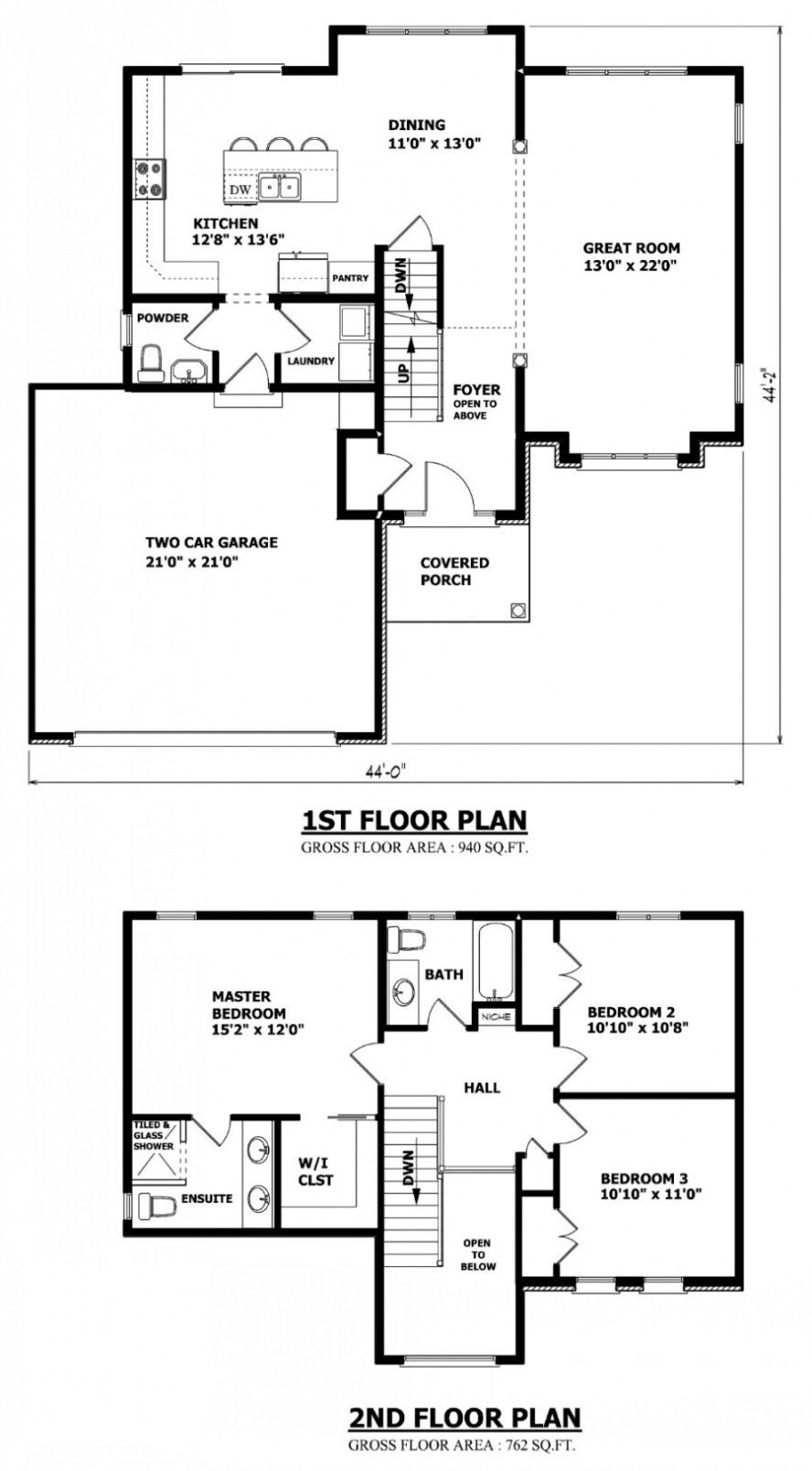 Plan Of Two Storey House Awesome Two Storey House Floor Plan A Small Contemporary House In