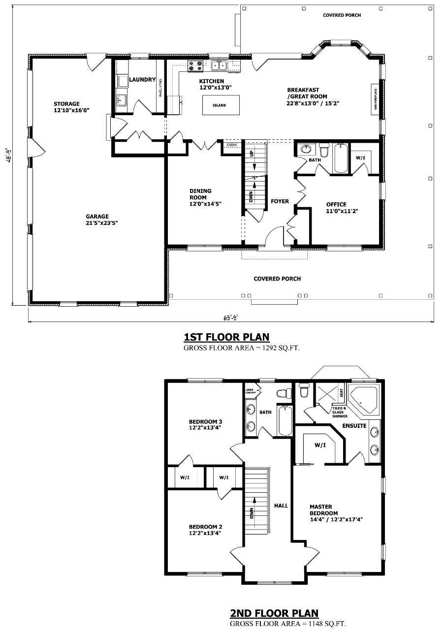 Plan Of Two Storey House Elegant Canadian Home Designs Custom House Plans Stock House