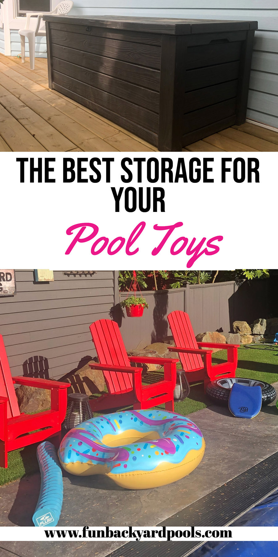 Best storage for your pool toys