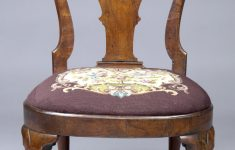 Queen Anne Furniture Antique Awesome English Walnut Antique Side Chairs