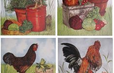 Rooster Wall Decor Kitchen Best Of Rooster Chicken Farm Animal Four 8x10 Set Picture Kitchen Wall Decor Art Print Posters