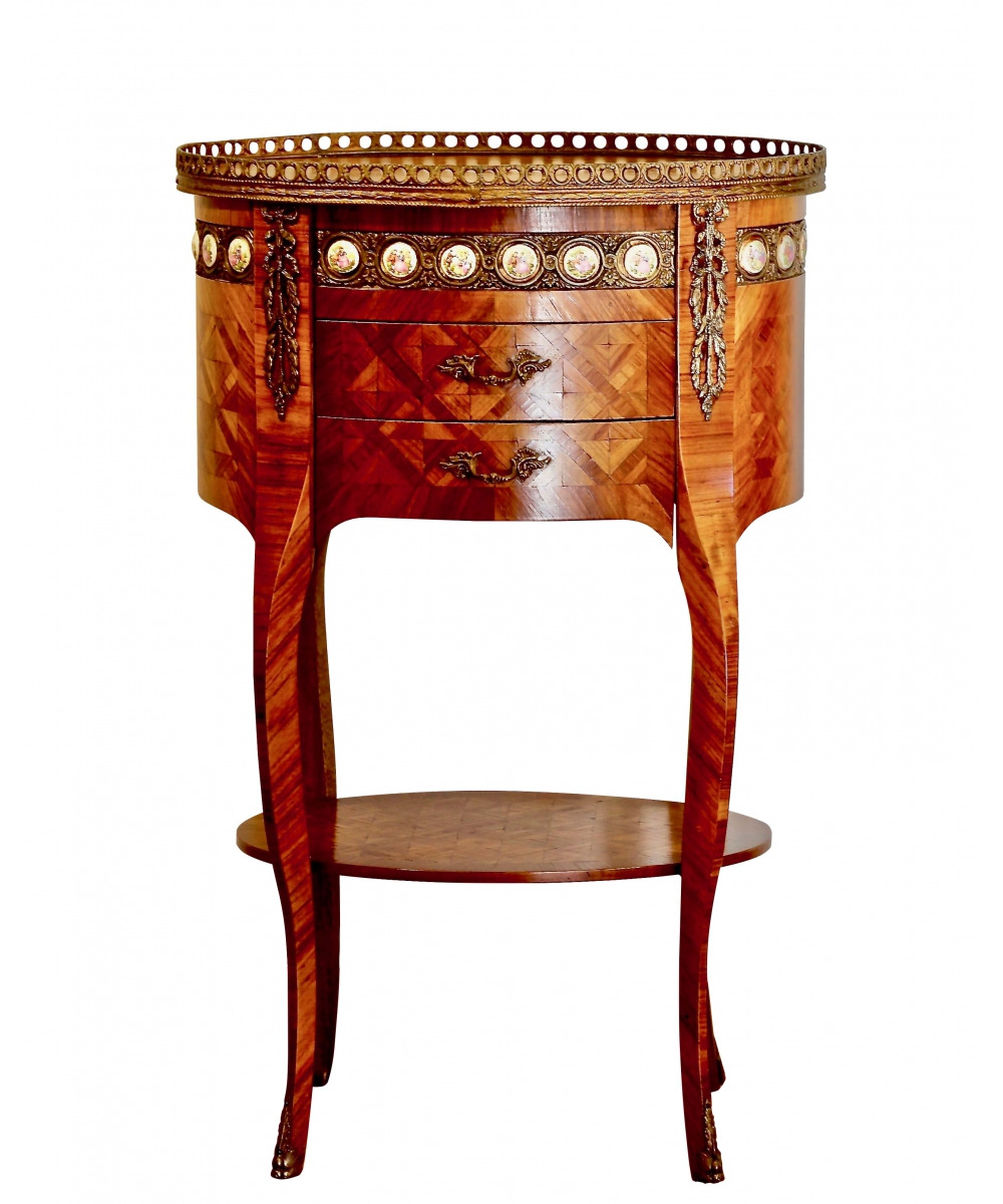 antique table in the style of napoleon iii italy the 2nd half of the 20th century