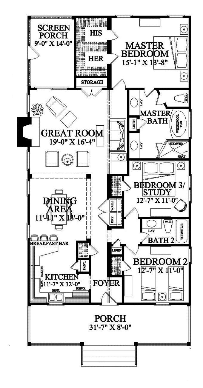 7 bedroom flat structure and house plans in 3d