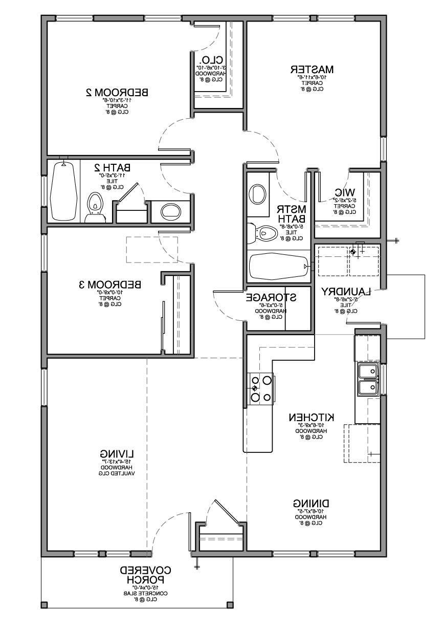 elegant 3 bedroom house plan and design for floor with picture shoise simple