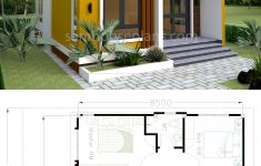 Small Adobe House Plans New House Plans 6 5x8 5m With 2 Bedrooms House Plans Free