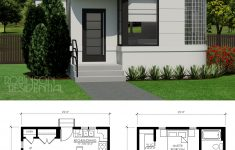 Small Contemporary Home Plans Lovely Contemporary Norman 945