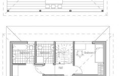 Small Efficient House Plans New Small House Plan With Open And Efficient Room Planning