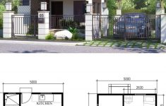 Small Home Design Plans Luxury Small Home Design Plan 5x5 5m With 2 Bedrooms Home Ideas