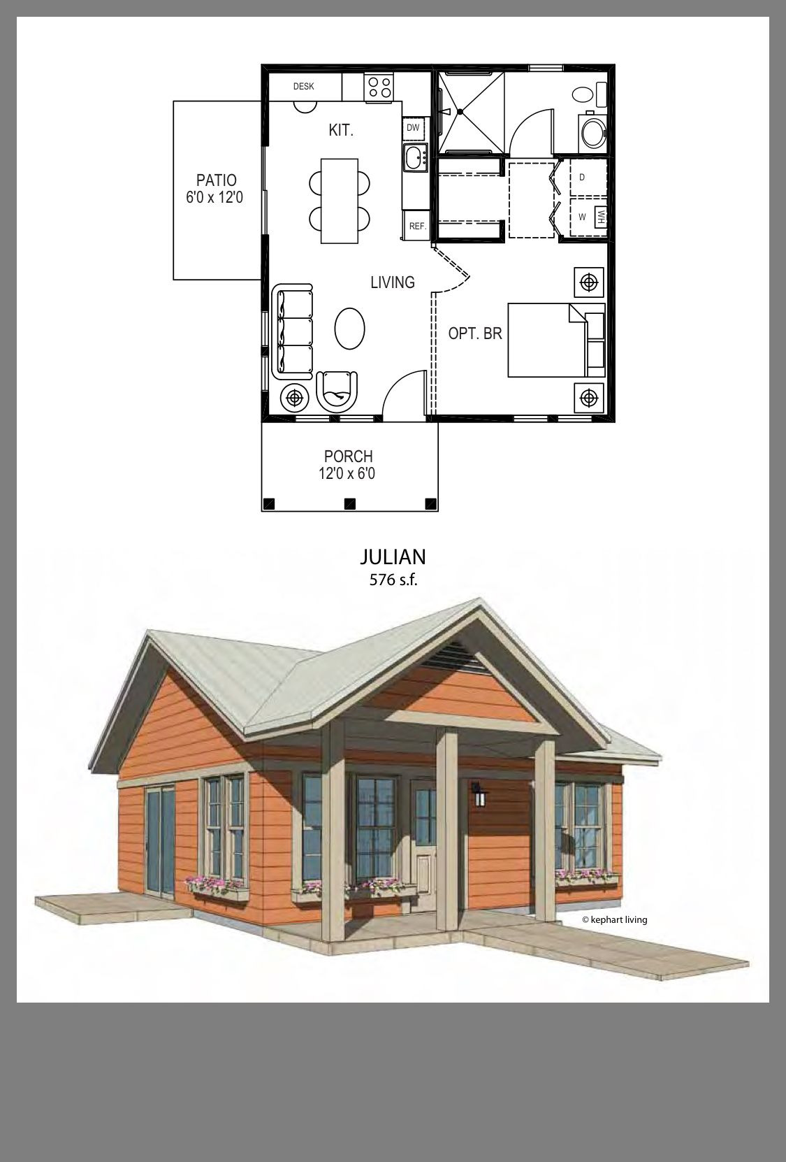 Small House Plans and Designs Luxury Julian Small but Efficient