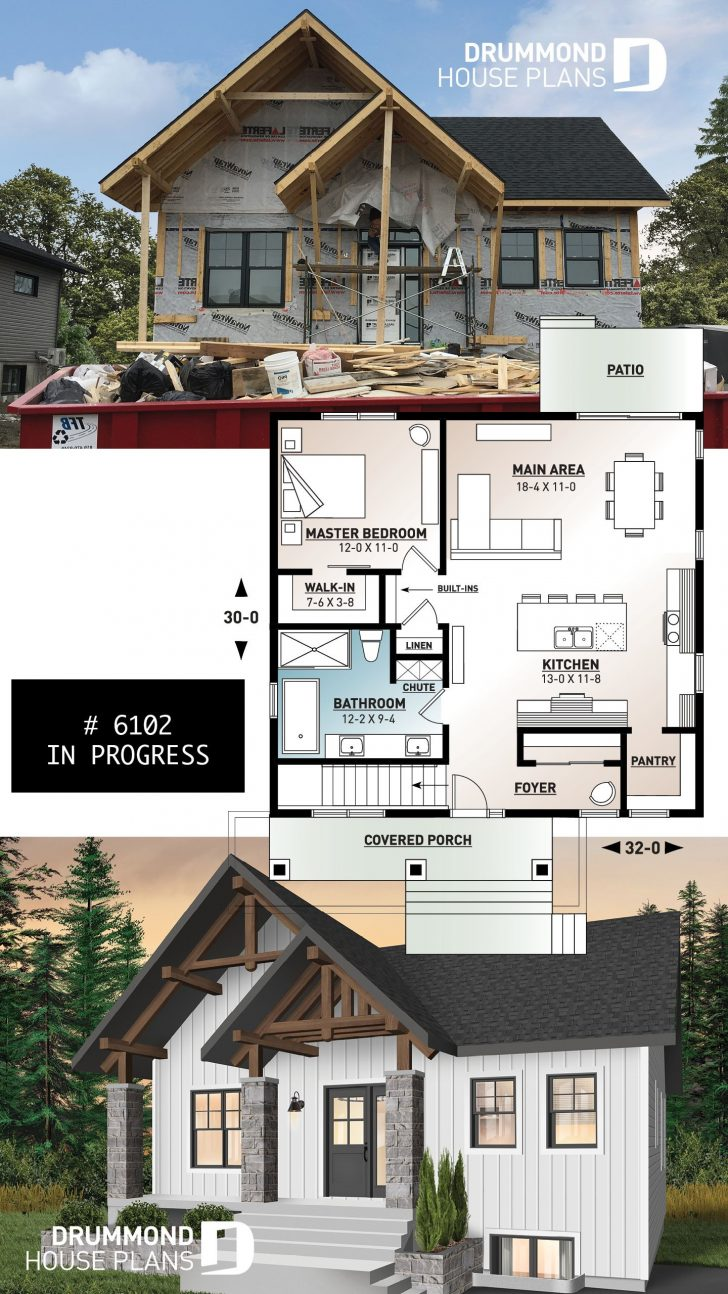 Small House Plans One Story 2021
