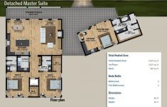 Small House Plans With 2 Master Suites Inspirational Plan Ly Detached Master Suite