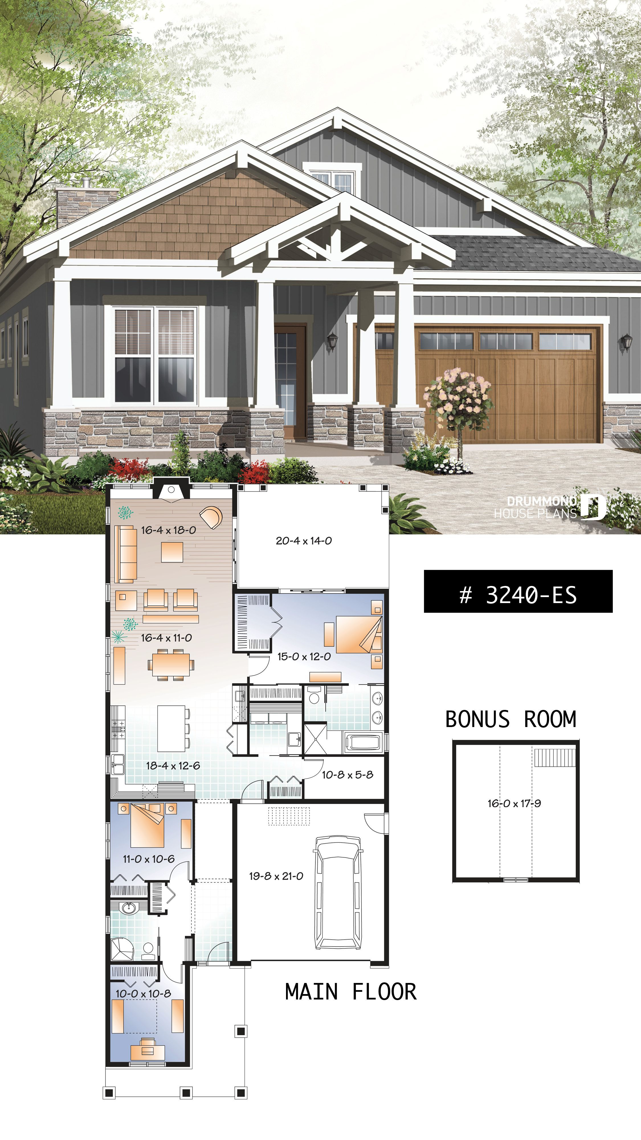 Small House Plans with Open Floor Plan Fresh House Plan northaven No 3240 Es