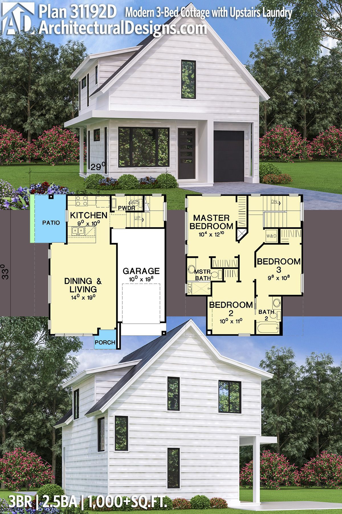 Small Modern Cottage House Plans Luxury Architectural Designs Modern Cottage House Plan D Gibt