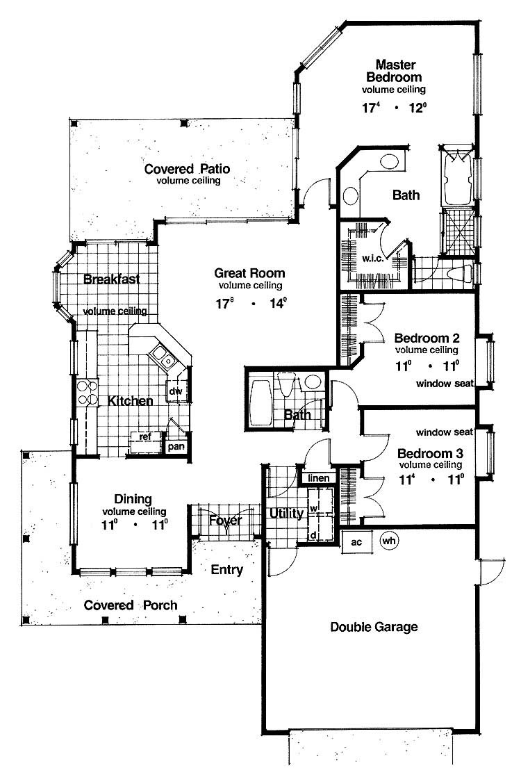 Small Minimalist Tropical House Plans Layout