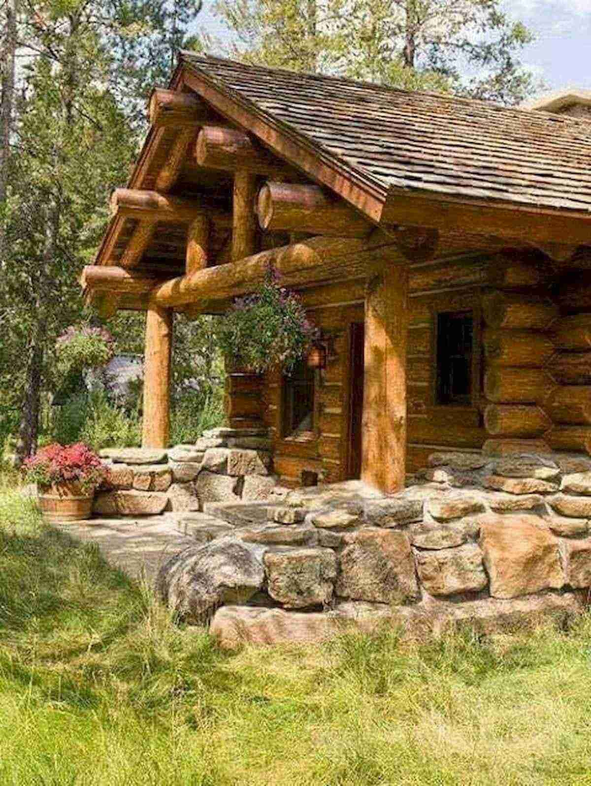 75 Great Log Cabin Homes Plans Design Ideas 19