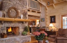 Stone And Log House Plans New Sitka Rustic Country Log Home Plan 073d 0021