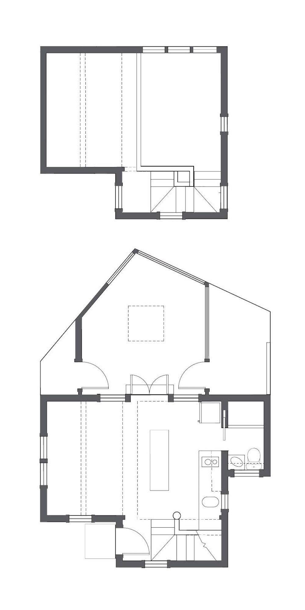Summer Cottage House Plans Elegant This Tiny 1940s Summer Cottage On Cape Cod Was Renovated
