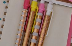 Target Office Supplies Gold Beautiful Pink & Gold 3