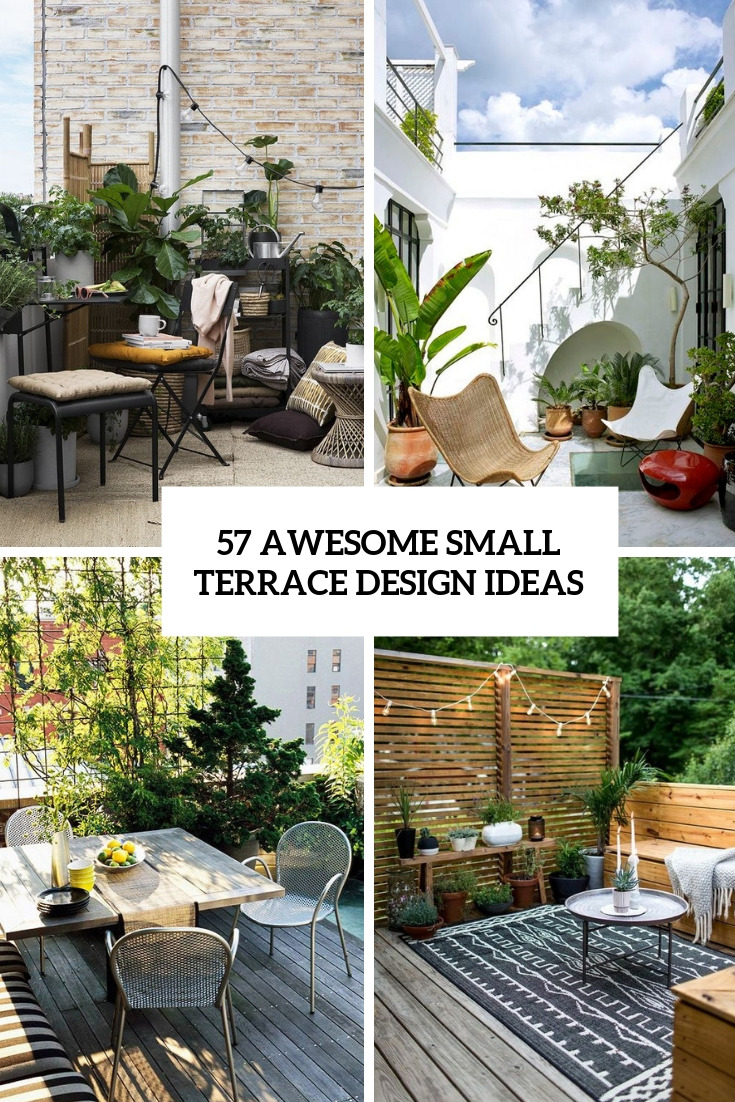 57 awesome small terrace design ideas cover