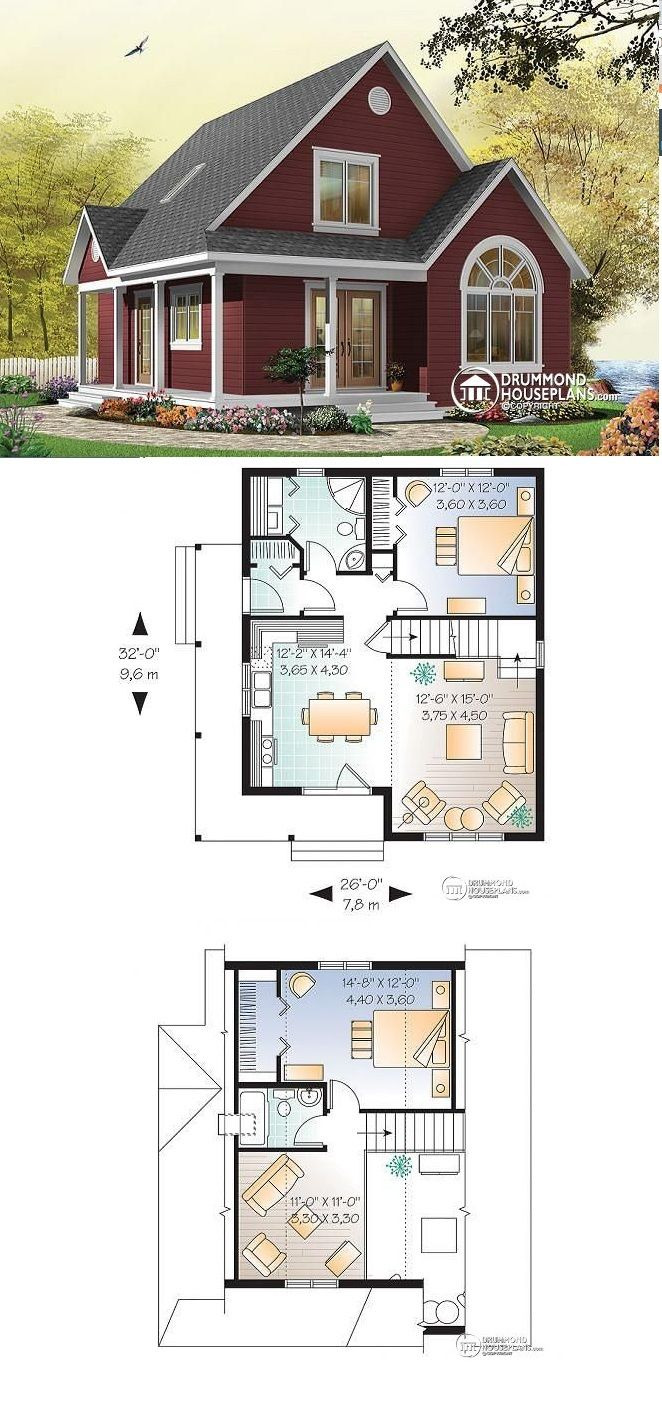 The Best Small House Plans Awesome House Plan Celeste No 3507