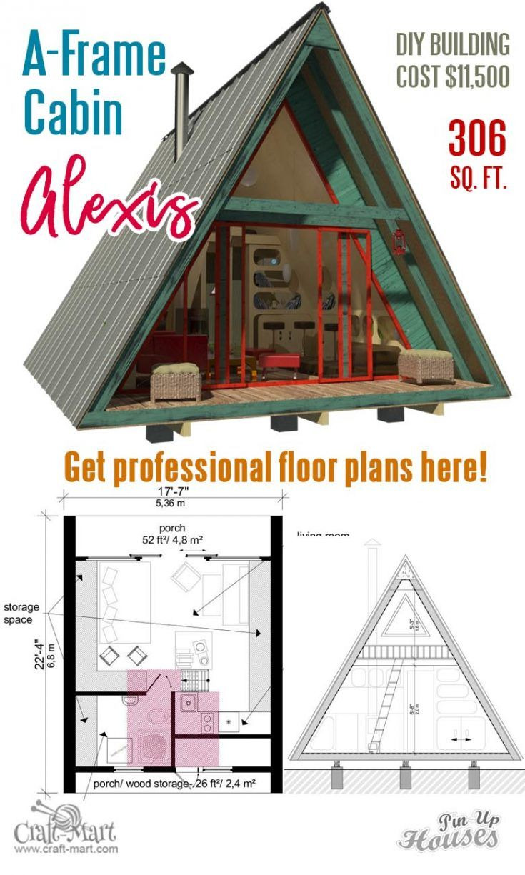 The Best Small House Plans Lovely A Frame Tiny House Plans Alexis In 2020