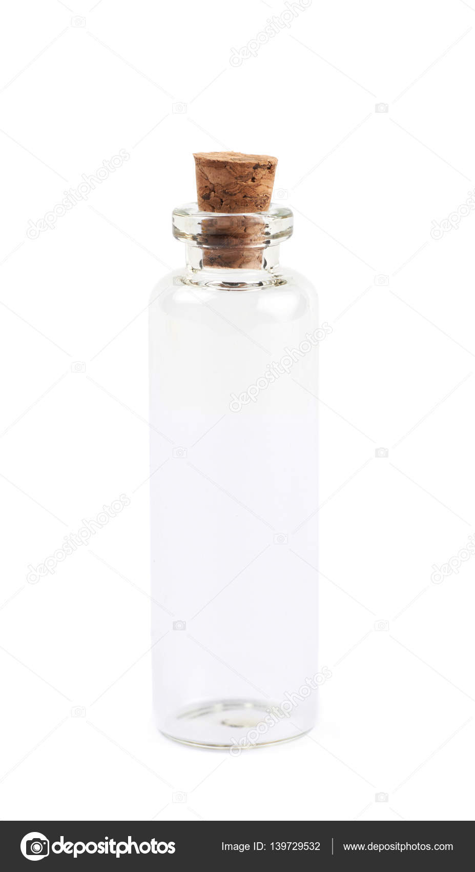 depositphotos stock photo tiny glass bottle with a