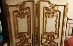 White And Gold Antique Furniture Beautiful Rococo Style Wardrobe Gold Trim Stunning In So16 Southampton