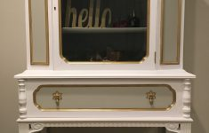 White And Gold Antique Furniture Best Of Antique China Cabinet In White Gray & Gold