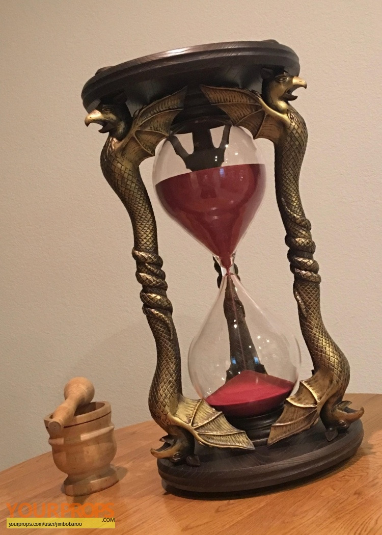 The Wicked Witch s Hourglass replica movie prop The Wizard of Oz 1939 YP