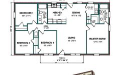 1500 Sq Ft Modern House Luxury 1 400 1 500 Sq Ft Floor Plan The Evergreen Is 1 417