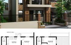 2 Storey Small House Design Beautiful Home Design Plan 9x8m With 3 Bedrooms