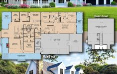 5 Bedroom Modern Farmhouse Plans Awesome Architectural Designs Farmhouse Plan Mk Gives You 4 5