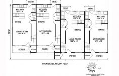 8 Bedroom Floor Plans Beautiful Traditional Style Multi Family Plan With 8 Bed 4