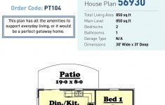 850 Sq Ft House Plans Awesome Tiny House Plan