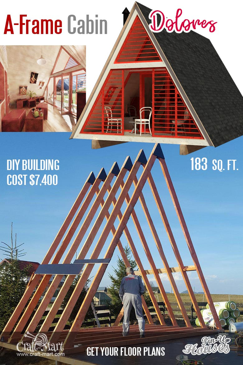 111 small house plans A frame Dolores 3