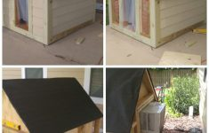 Air Conditioned Dog House Plans Awesome Insulated Heated And Cooled Dog House With Images