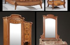 Antique Art Deco Bedroom Furniture Lovely Four Piece French Inlaid Mahogany Art Nouveau Bedroom
