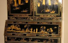 Antique Black Lacquer Furniture Fresh Elegant Black Lacquered Chinoiserie Secretary