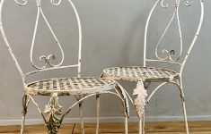 Antique French Garden Furniture Luxury Vintage French Garden Chairs Pair – Lovingly Made