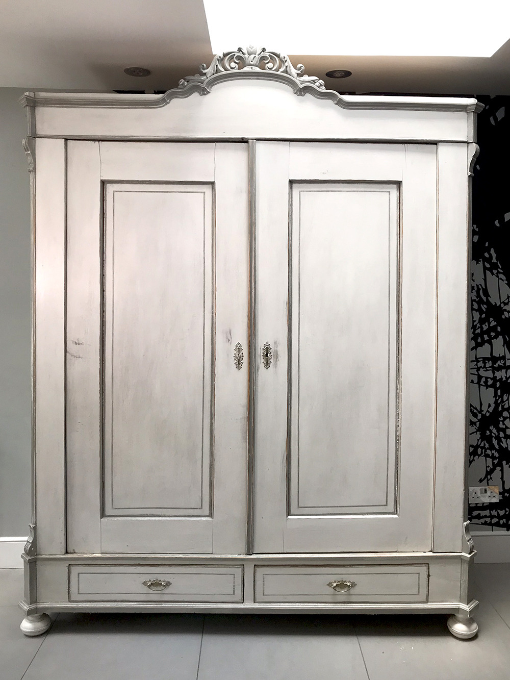 French armoire front view