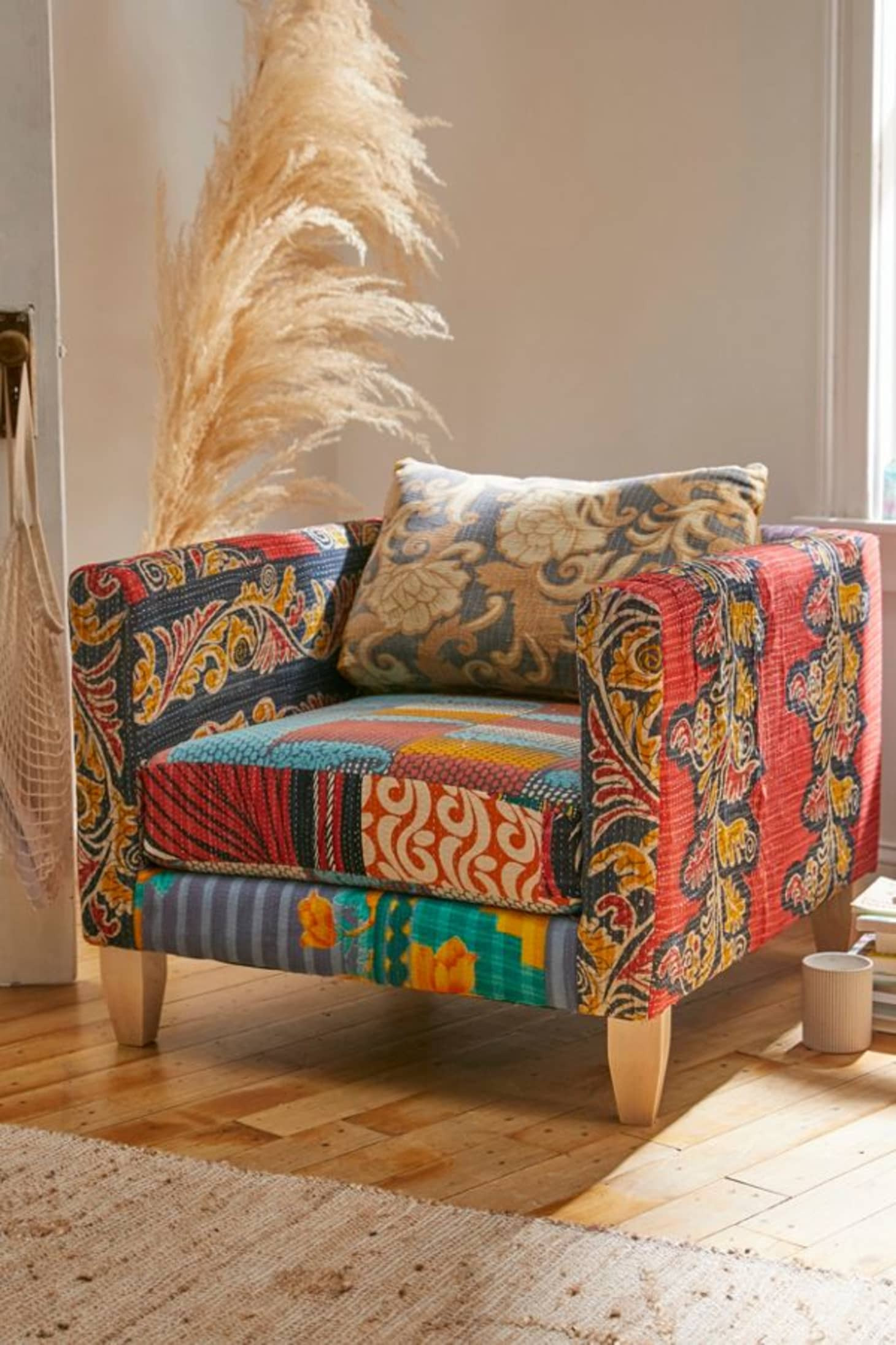 at product listing urban kantha chair