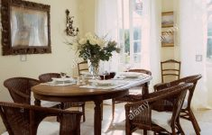 Antique Furniture Dining Room Set Inspirational Wicker Chairs At Oval Antique Table Set For Lunch In White