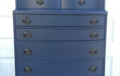 Antique Furniture For Sale Nyc Unique Antique Highboy Navy Blue Dresser — Antique Boutique Nyc