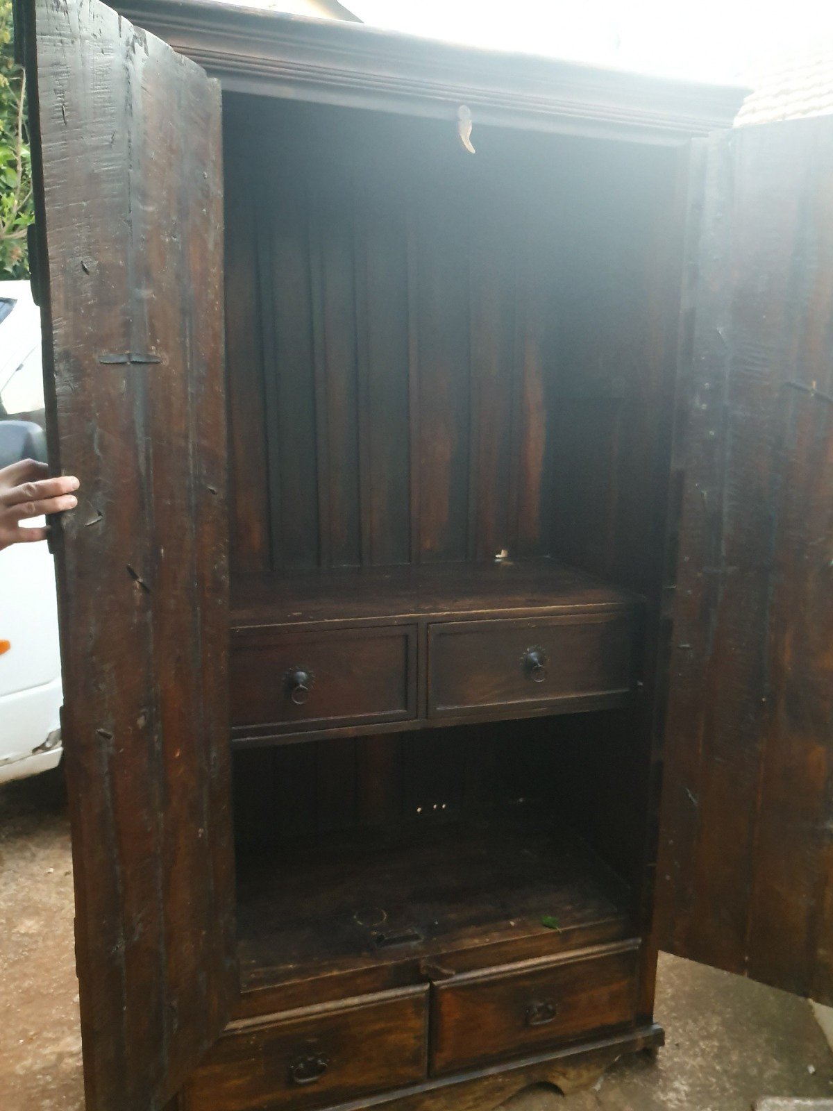 identifying vintage or antique cabinet 1 x2