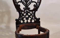 Antique Furniture New Orleans Unique Antique Carved Rosewood Slipper Chair Circa 1860